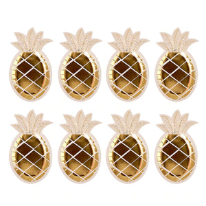 Parties | Gold Pineapple Plate