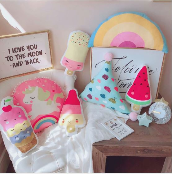 Ice Cream Soft Toys