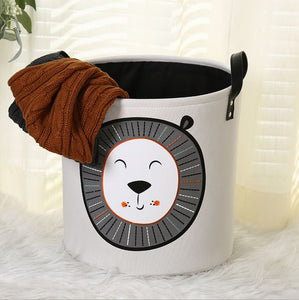 Lion Storage Basket