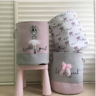 Little Girl Storage Baskets