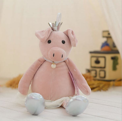 Ballerina Piggy Soft Toy