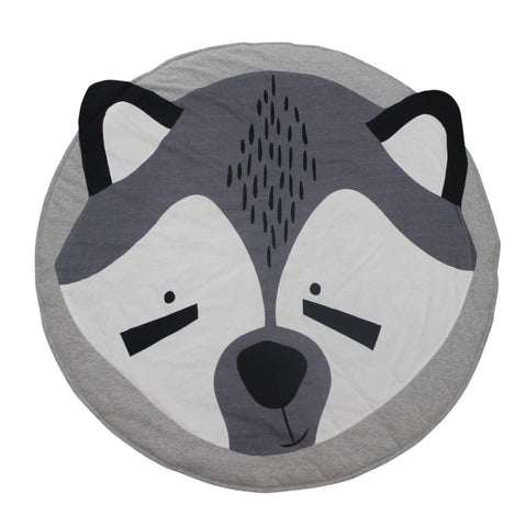 Racy Raccoon Play Mat