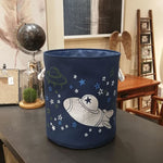 Space Lined Storage Baskets