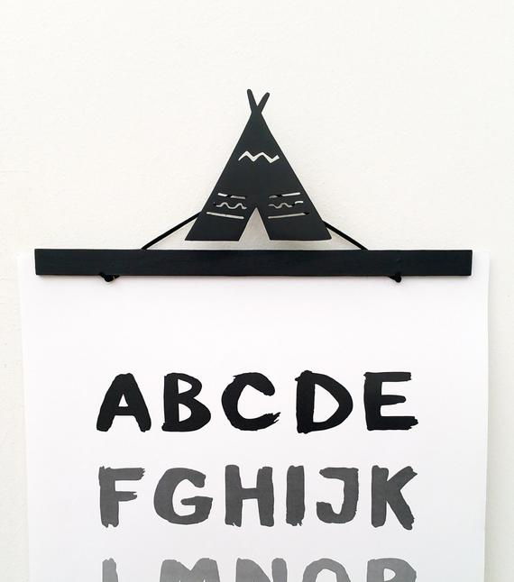 Teepee Wall Mounted Hook