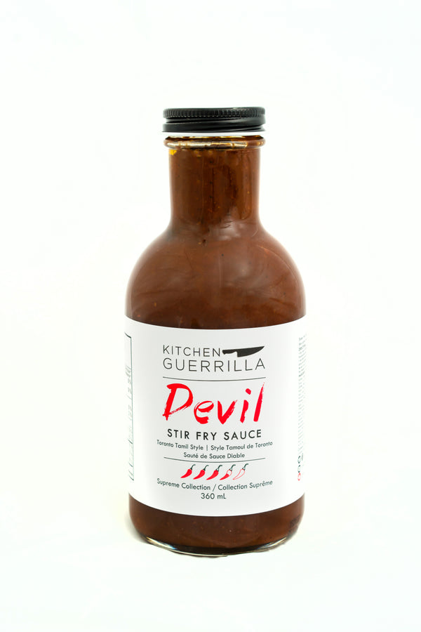 Devil Stir Fry Sauce - Supreme Collection - Kitchen Guerrilla