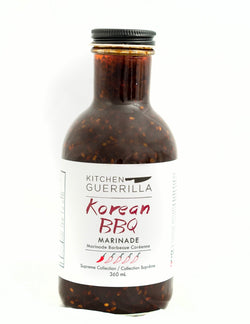 Korean BBQ Marinade - Supreme Collection - Kitchen Guerrilla