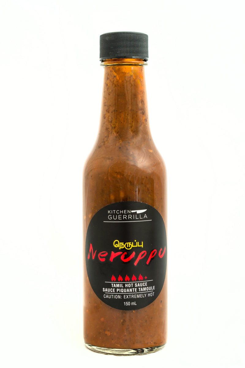 Neruppu Tamil Hot Sauce - Kitchen Guerrilla