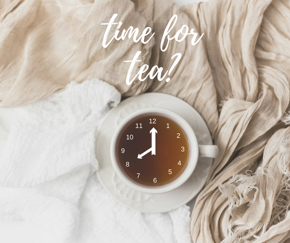 2 Factors That Determine The Best Times of Day for Drinking Tea