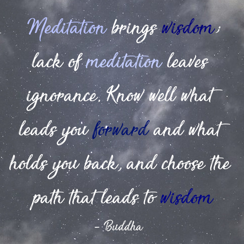 quote about meditation by buddha