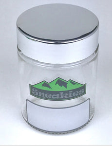 Flower 1/4oz. Rewritable Glass Jar set