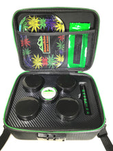 Load image into Gallery viewer, Flower Stash Box  Sport Version with Carrying Strap - (Black)