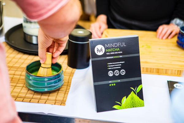 Mindful Matcha at the Gourmet Festival Düsseldorf 2018
