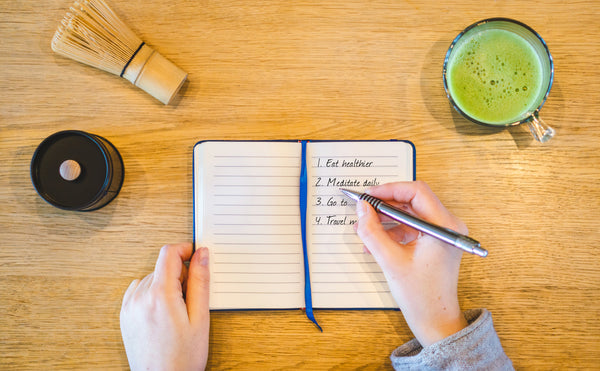 Mindful Resolutions mit Mindful Matcha - © Mindful Matcha