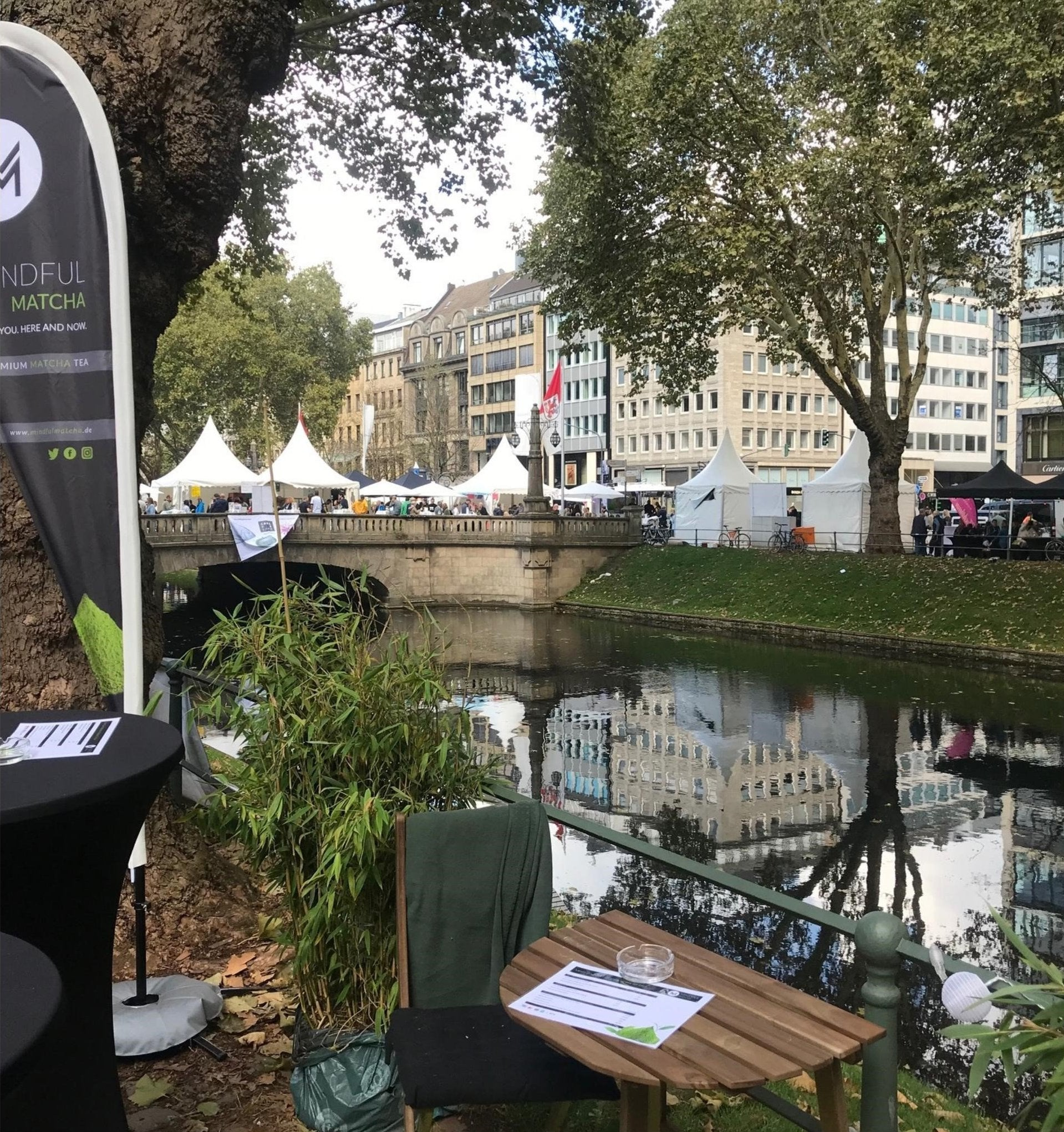 Gourmet Festival Blick vom Stand - © Mindful Matcha