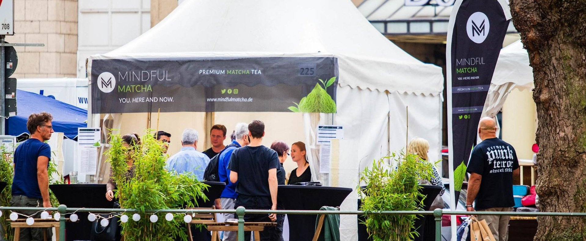 Gourmet Festival Stand - © Mindful Matcha