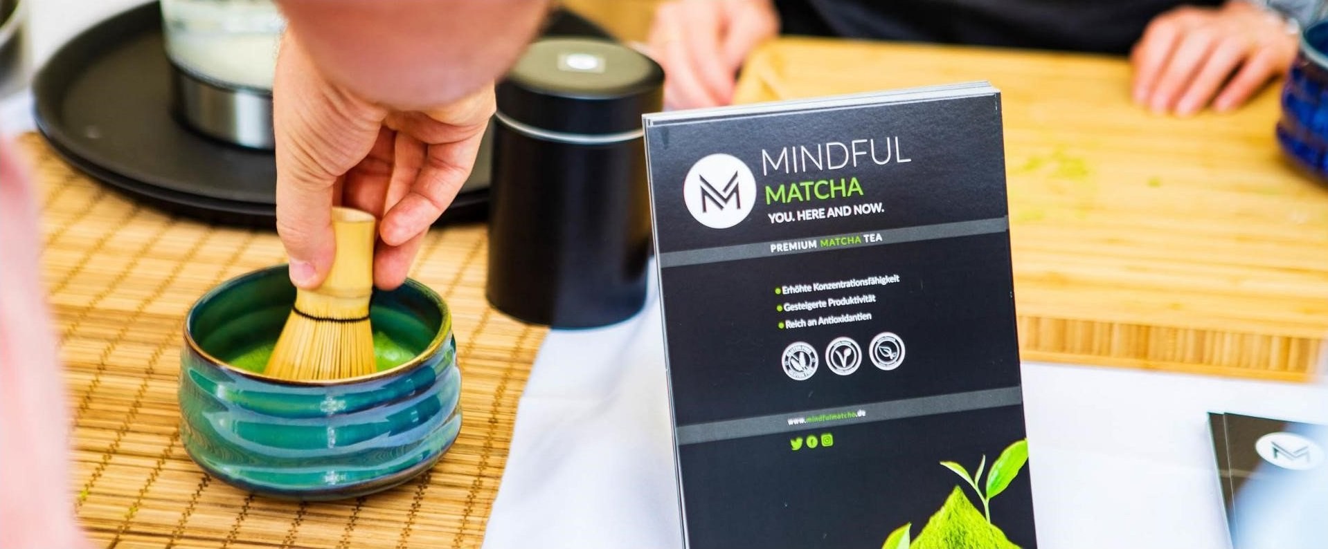 Gourmet Festival am Stand - © Mindful Matcha