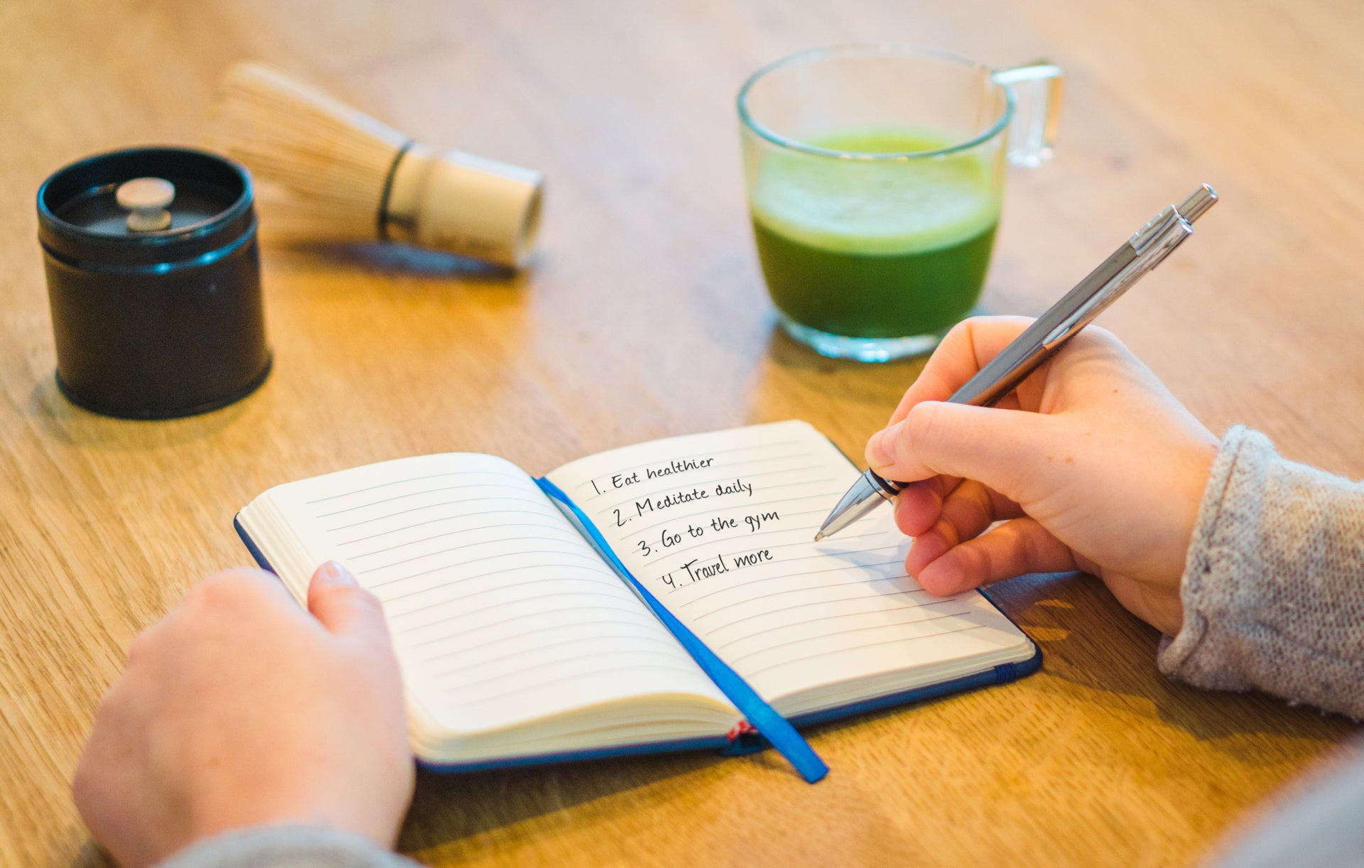 Mindful Resolutions mit Matcha - © Mindful Matcha