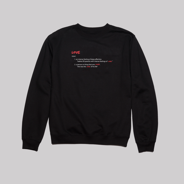 Love is a Word Crewneck