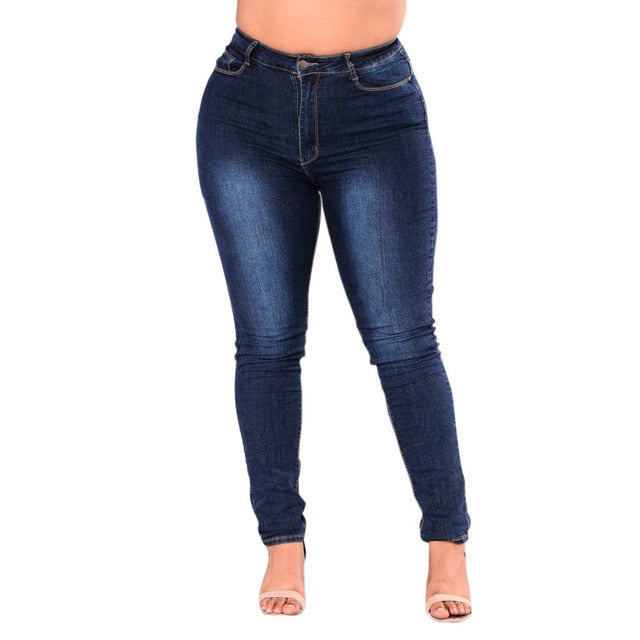 Plus Size Fitted Skinny Jeans