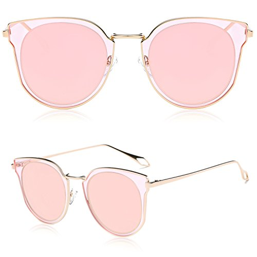Rose Gold Framed Sunglasses