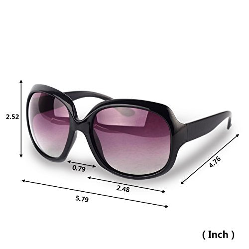 Polarized Sunglasses with Black Frame