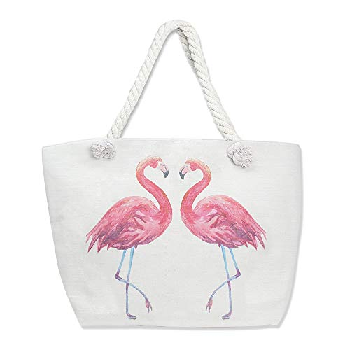 Flamingo Beach Tote