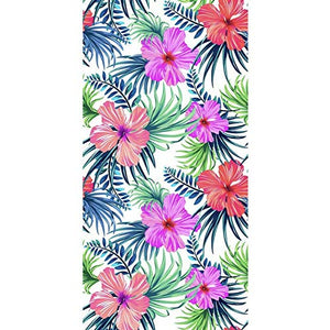 Tropical Hawaiian Beach Towel