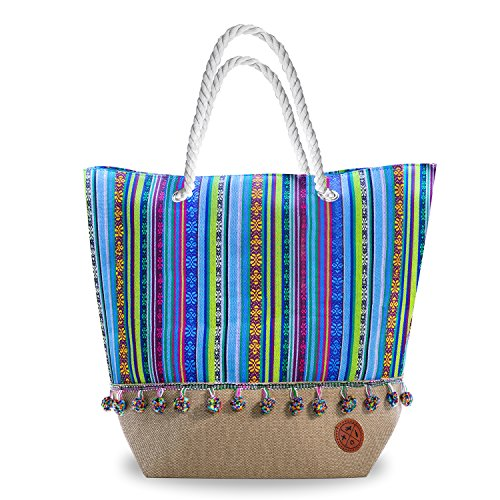 Hobo-Chic Beach Bag