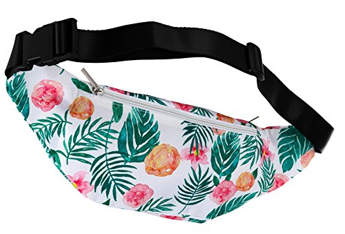 Tropical Waterproof Fanny Pack
