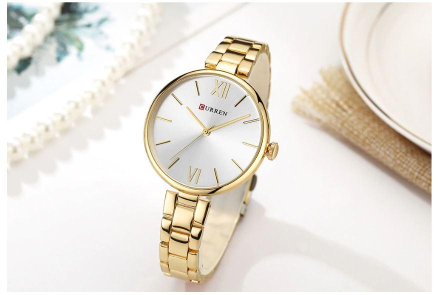 Sofie Elegant Gold Chain Watch
