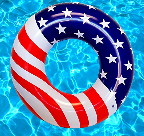 American Flag Pool Float - Large