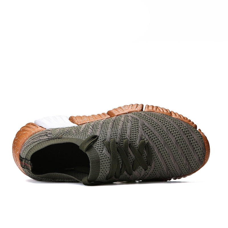 Breathable Mesh Running Shoes Black