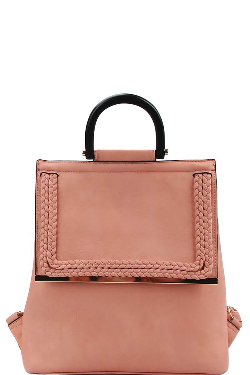 Stylish Modern Trendy Changing Backpack Pink