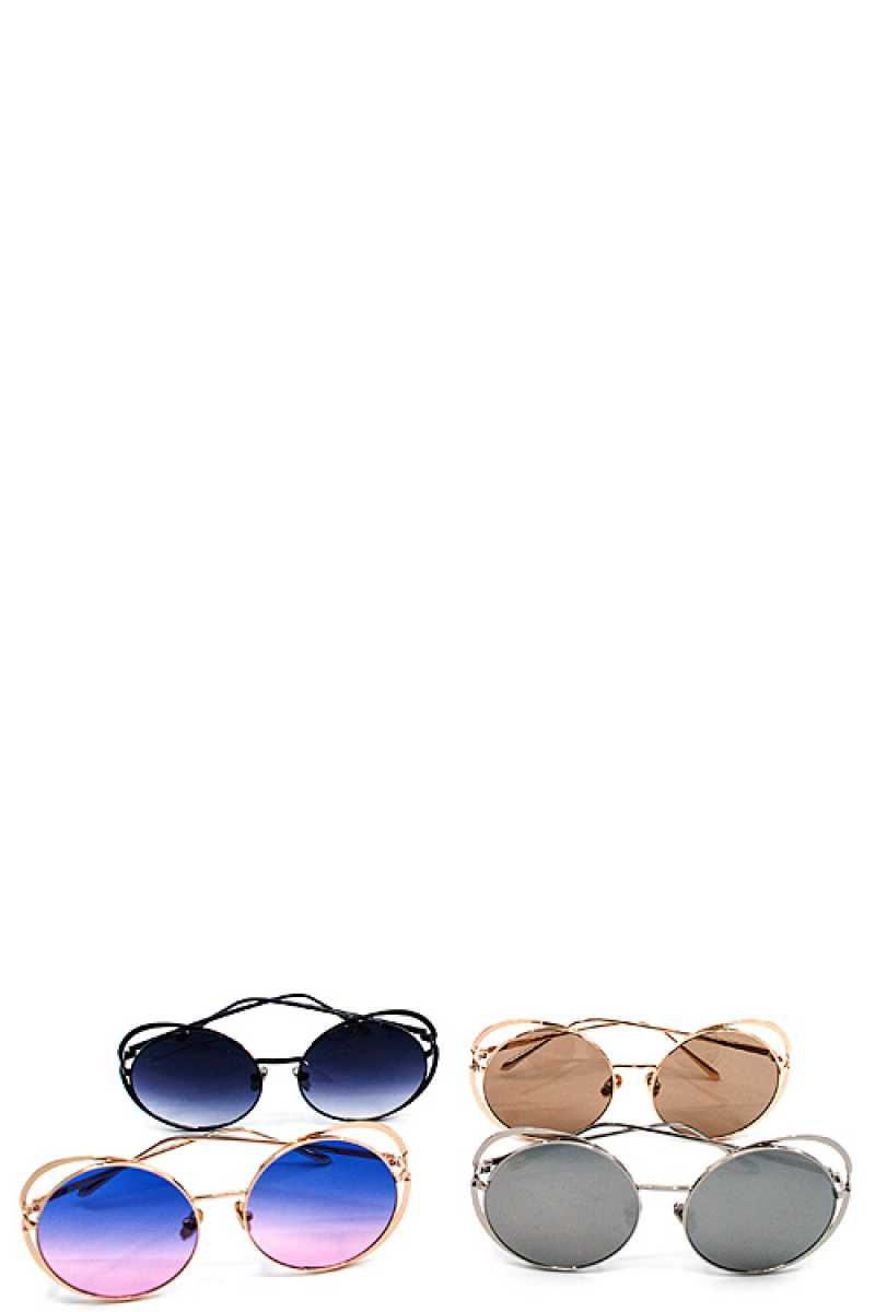 Chic Modern Sunglasses Grey
