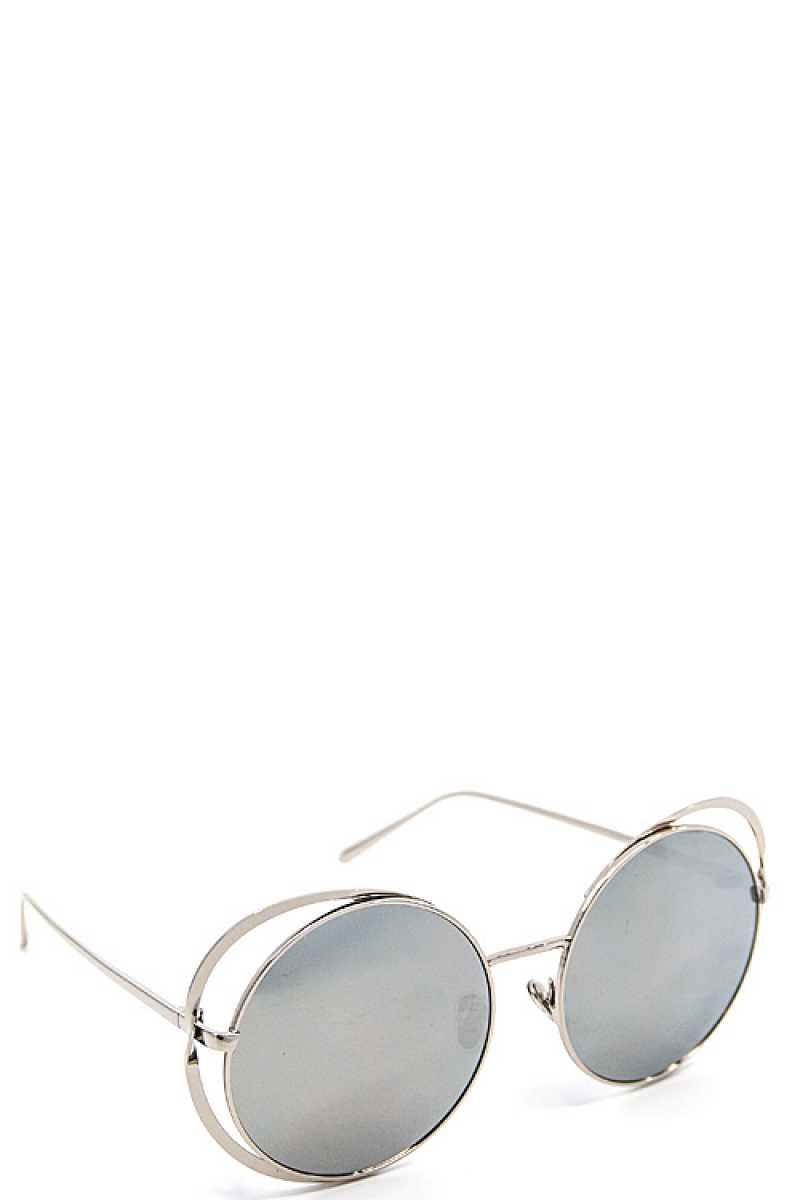 Chic Modern Sunglasses Black