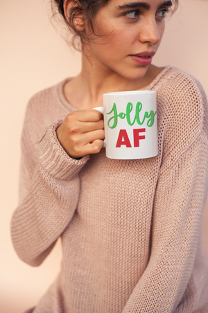 Jolly AF Coffee Mug White