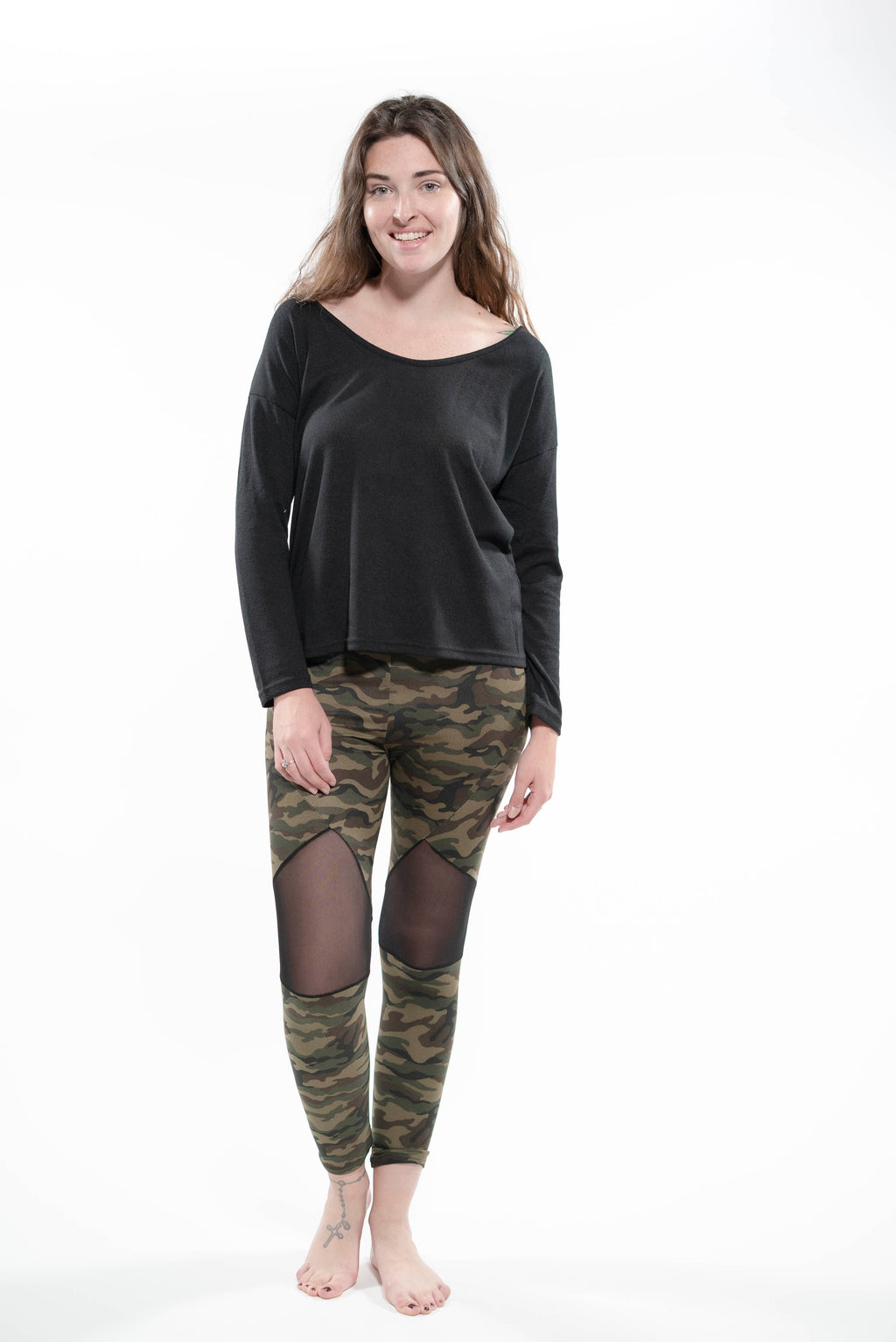 Camo Print Leggings Multi