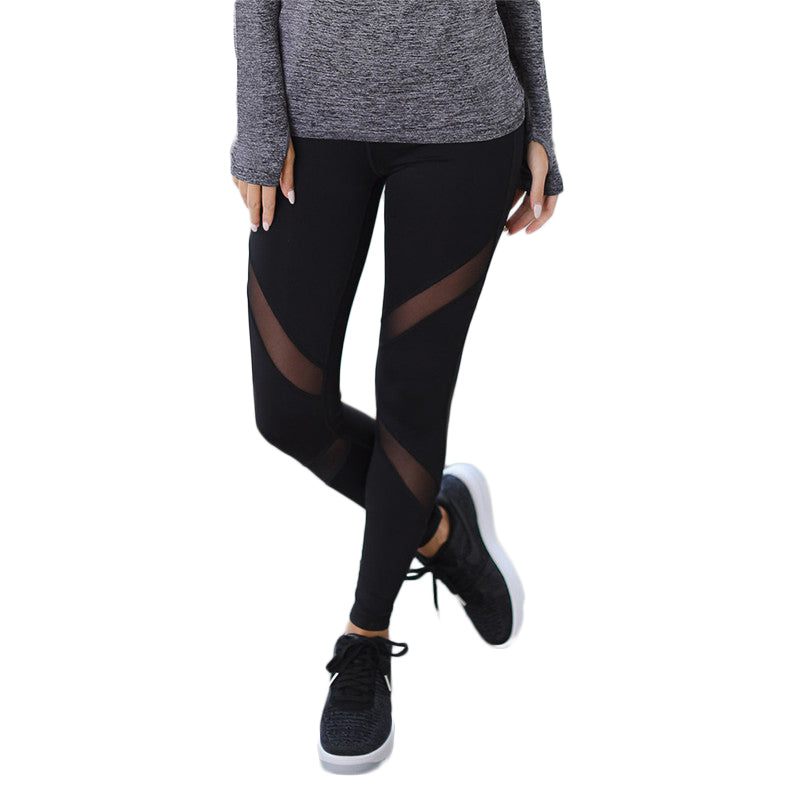 Slim Mesh Yoga Leggings