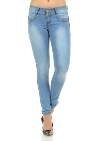 Colombian Light Push Up Jeans