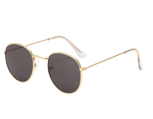 Vintage Round Anti UV Sunglasses