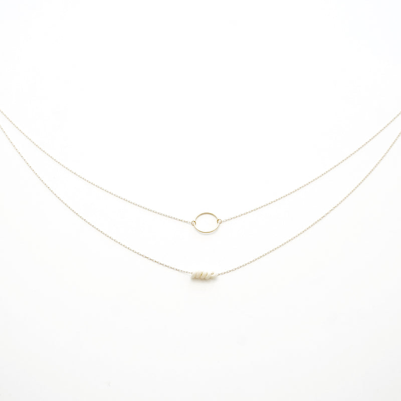 Small Double Ring Chain