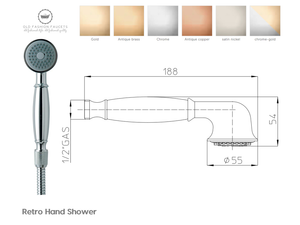 Retro' Handshower