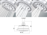 Classic Shower Head (110mm) 3 Spray