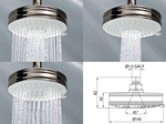 Liberty Shower Head (140mm) 3 Sprays