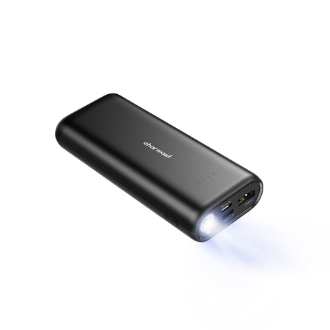 Charmast 10000mAh Power Bank with Flashlight