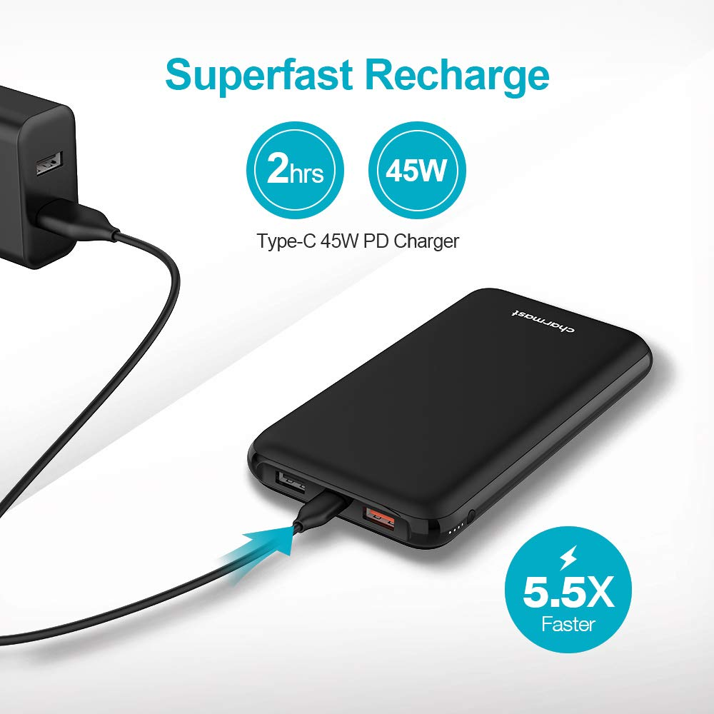 Charmast 21000mAh 45W PD Portable Charger