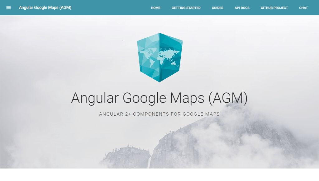 Angular Google Maps (AGM)
