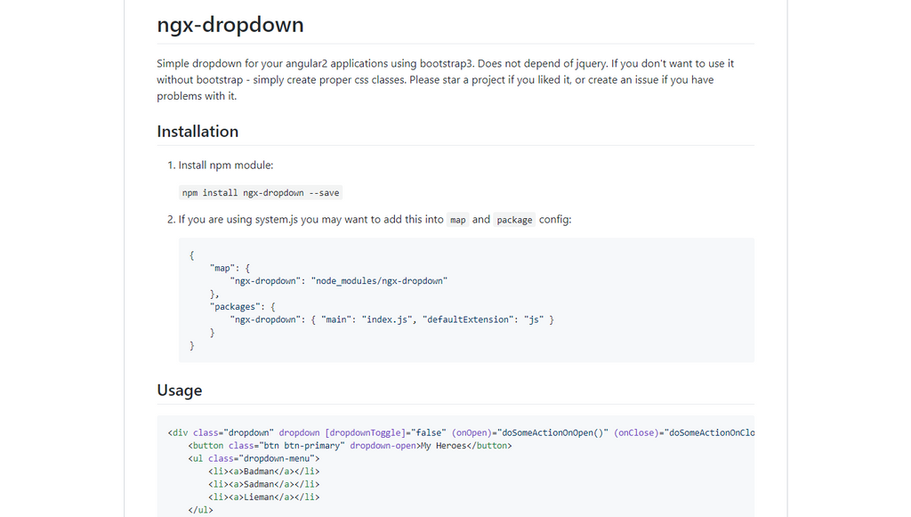 Ngx-dropdown