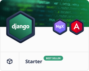 Angular Django Starter Dashboard