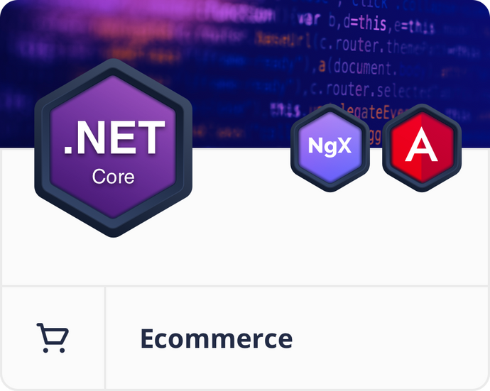 Angular .NET Core E-Commerce Dashboard
